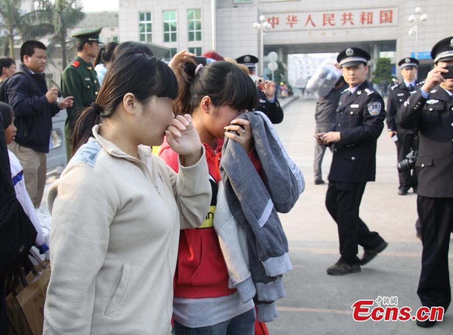Trung Cộng bắt 60 người trong đường dây bắt cóc và buôn bán phụ nữ Việt