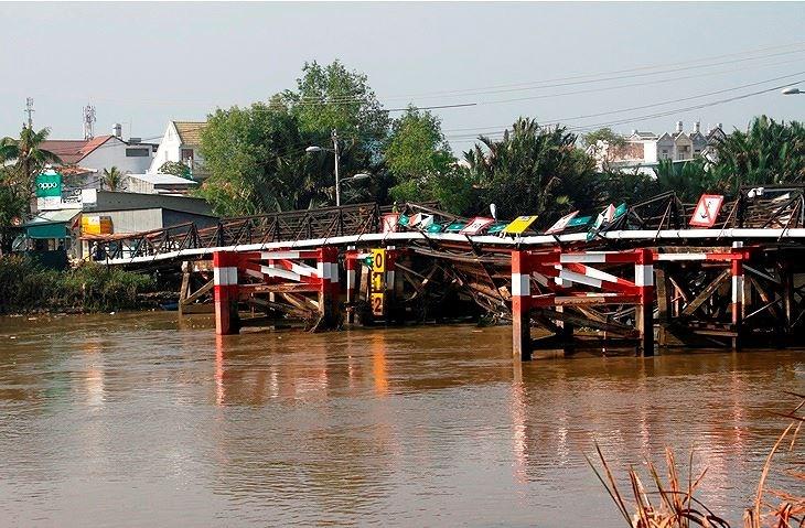 30 chiếc cầu cũ kỹ ở Sài Gòn nguy cơ sập