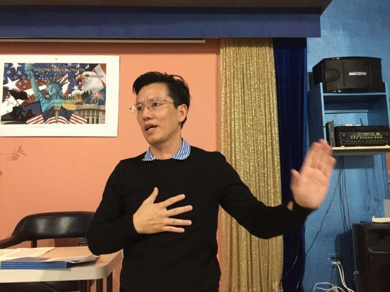Ông Nguyễn Thanh Tú và bà Michelle Dương giải tán công ty mang trùng tên Đảng Việt Tân