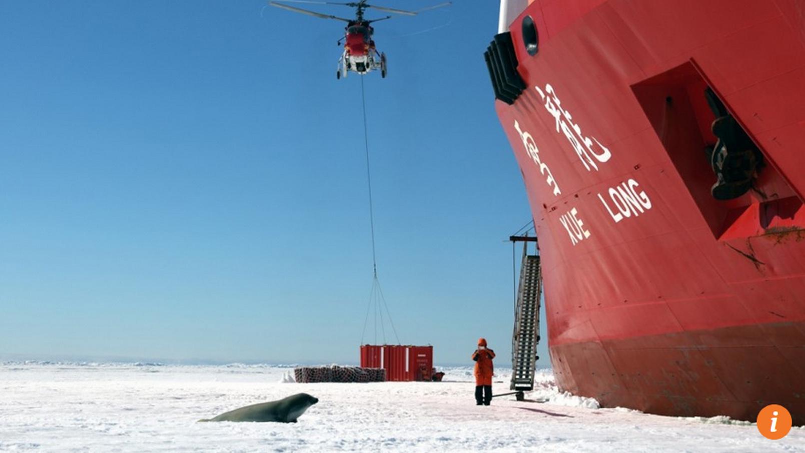 Trung Cộng công bố tham vọng mới trong bạch thư về chính sách ở Bắc Cực