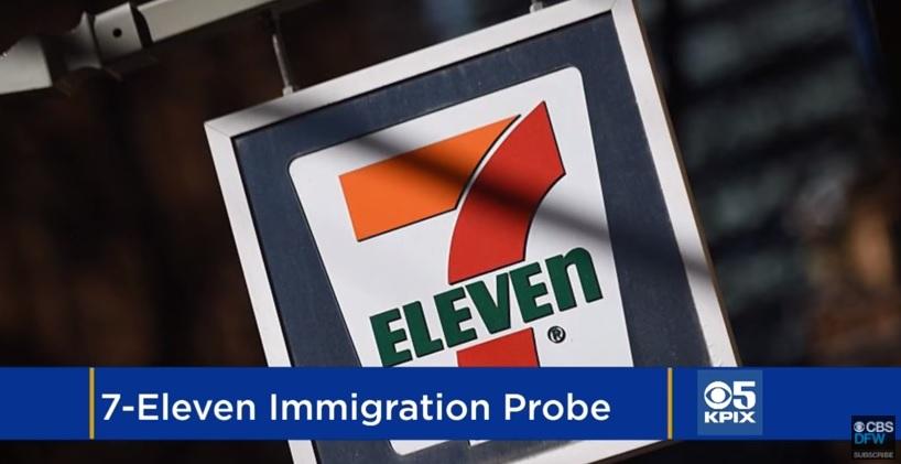 Nhân viên ICE kiểm tra hàng chục tiệm 7-Eleven tìm di dân bất hợp pháp
