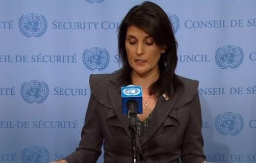 Đại sứ Nikki Haley nói về ưu tiên của Hoa Kỳ tại Liên Hiệp Quốc trong năm 2018