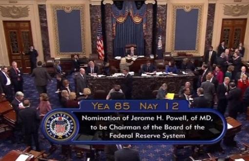 Thượng viện bỏ phiếu xác nhận Jerome Powell làm Chủ Tịch Quỹ Dự Trữ Liên Bang