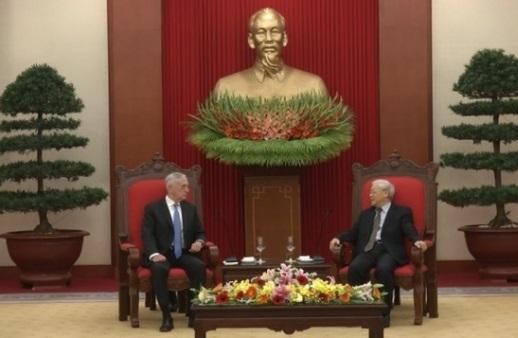 Hàng không mẫu hạm Hoa Kỳ có thể thăm Đà Nẵng trong tháng 3