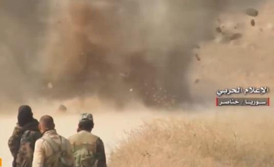 Nhờ Iran và Nga yểm trợ , quân chính phủ Syria tiến sâu vào vùng nông thôn Aleppo