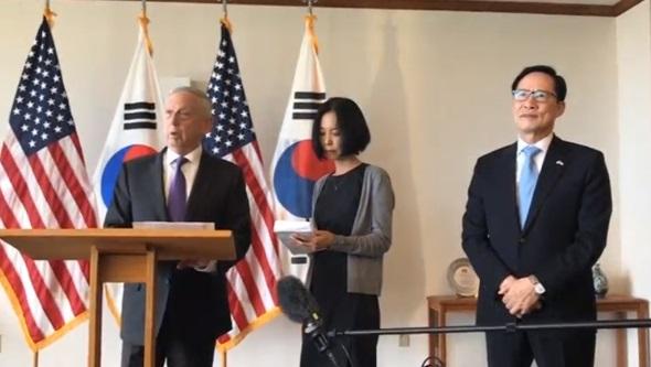 Bộ Trưởng Quốc Phòng Mattis: ngoại giao là cách để đối phó với Bắc Hàn