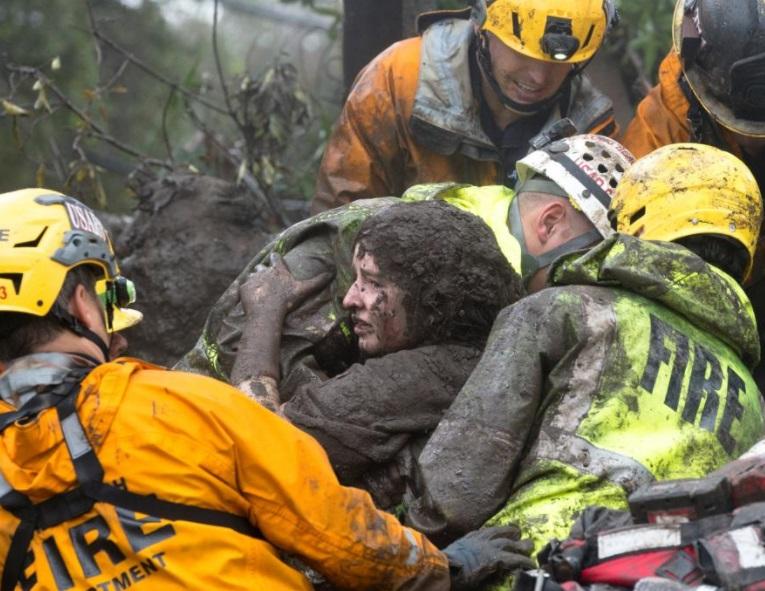 Lở đất Nam California khiến ít nhất 17 người chết, 17 người mất tích