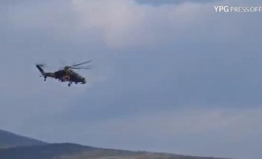 Phi cơ trực thăng Thổ Nhĩ Kỳ tấn công YPG tại Afrin