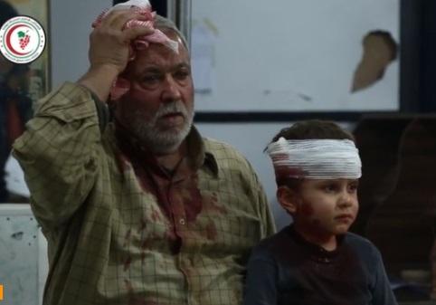 Phi cơ nghi là của Nga thả bom xuống gần Damascus giết chết ít nhất 30 người