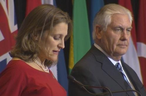 20 quốc gia họp ở Vancouver đồng ý tăng cường cấm vận Bắc Hàn