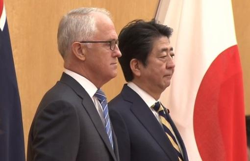 Úc và Nhật cam kết thắt chặt quan hệ kinh tế và an ninh