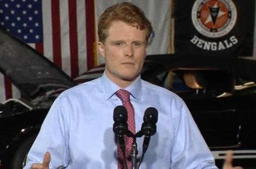 Dân Biểu Joseph Kennedy Đệ Tam đọc bài diễn văn đáp trả tổng thống Trump