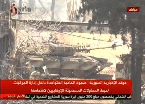 Quân đội chính phủ Syria phá vỡ vòng vây của quân nổi dậy gần Damascus