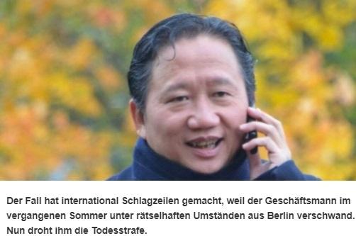 Đại diện tòa đại sứ Đức, đại diện EU tại Việt Nam tham dự phiên tòa Trịnh Xuân Thanh