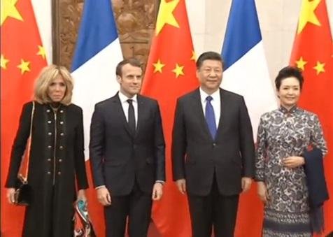 Tổng thống Pháp thăm Trung Cộng