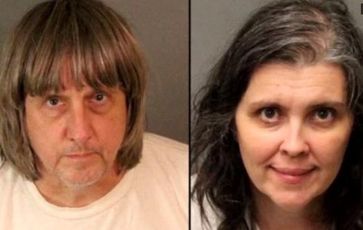 Cảnh sát Cali bắt giữ cặp vợ chồng xích 13 người con trong nhà