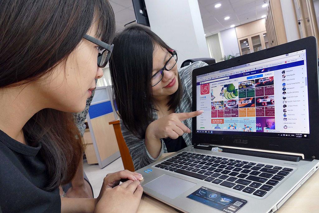 90% cửa hàng ở Việt Nam sử dụng internet để bán hàng