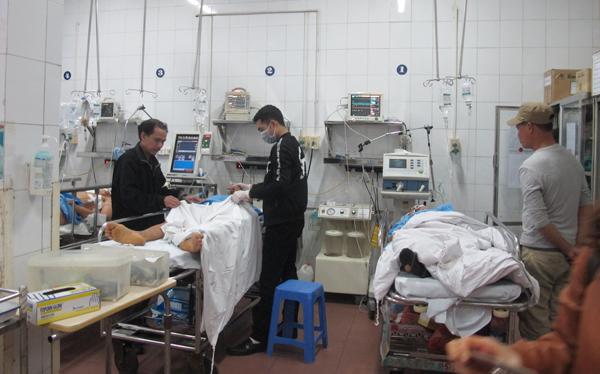 Bệnh viện Việt-Đức Hà Nội đón số bệnh nhân cấp cứu ngày Tết gấp 5 ngày thường