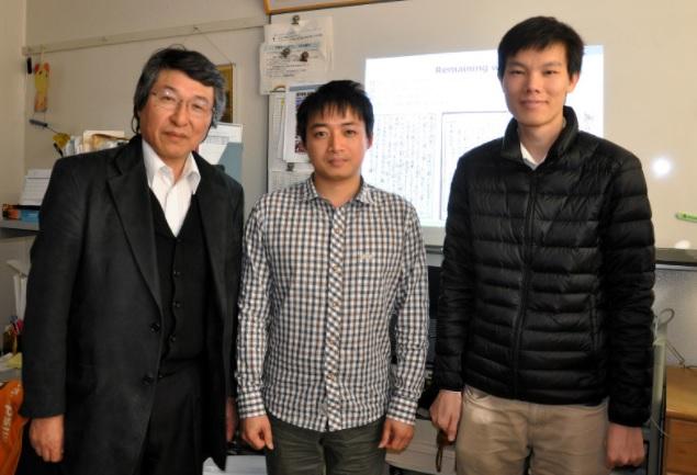Hai sinh viên Việt thắng giải thiết kế trí thông minh nhân tạo đọc chữ cổ Nhật Bản