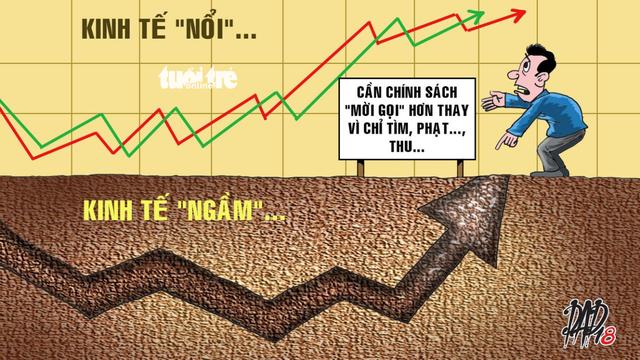 Bộ Kế Hoạch Đầu Tư CSVN hoãn công bố báo cáo về nền kinh tế ngầm