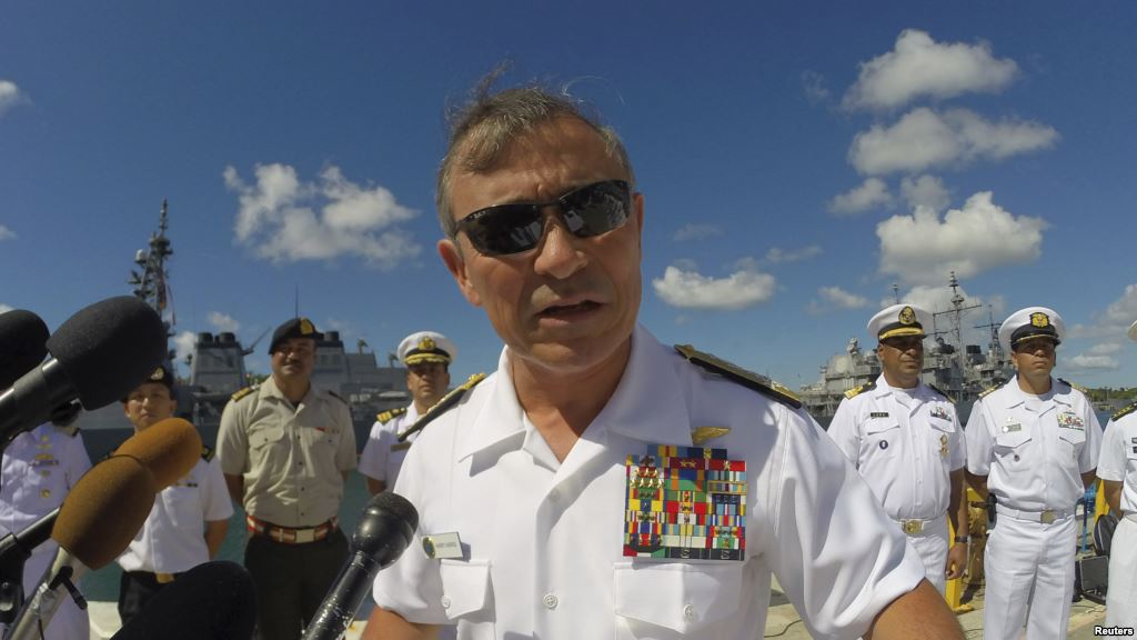 Đô Đốc Harris: Trung Cộng đã xây 7 tiền đồn quân sự ở Biển Đông