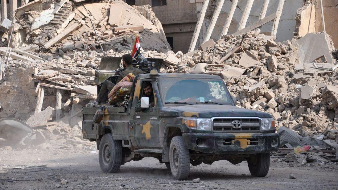 Hơn 100 tay súng thân Assad bị giết trong đợt tấn công địa điểm đóng quân của Hoa Kỳ tại miền Đông Syria