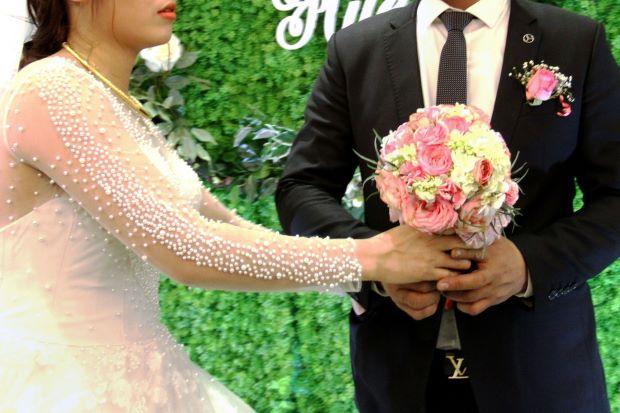 Bùng phát dịch vụ cho thuê cô dâu, chú rể để làm đám cưới tại Việt Nam