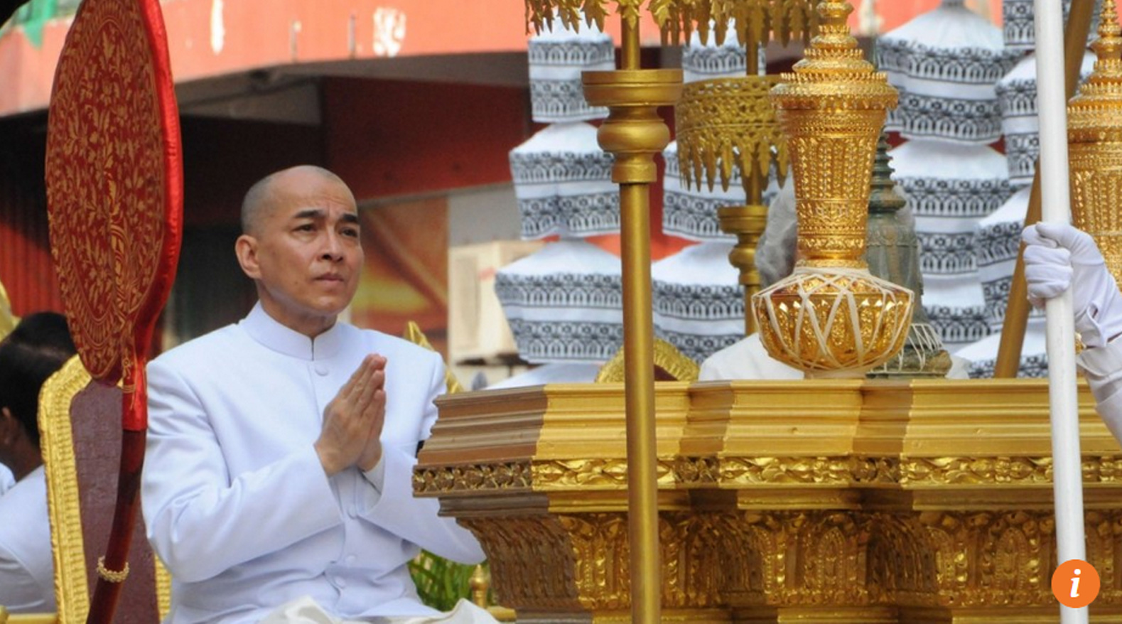 Cambodia coi việc chỉ trích nhà vua là tội hình sự