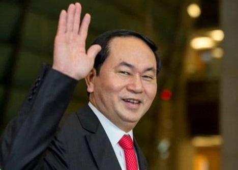 Chủ tịch CSVN Trần Đại Quang công du Ấn Độ trong tuần này