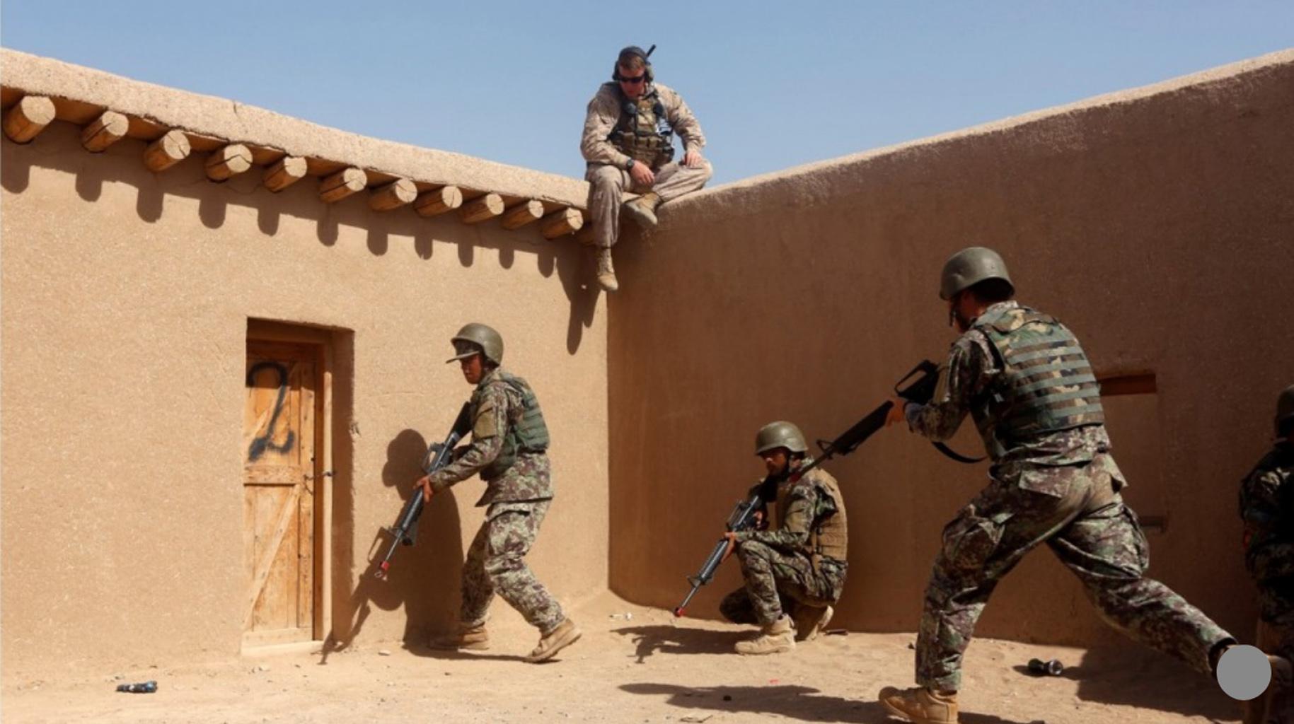 Lực lượng Hoa Kỳ tấn công phiến quân chống Trung Cộng tại Afghanistan