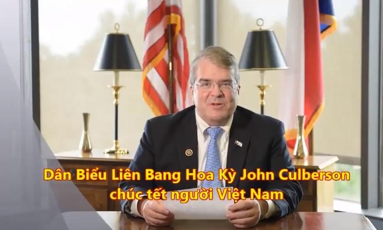 Dân biểu Hoa Kỳ ở Texas chúc tết các tù nhân lương tâm ở Việt Nam