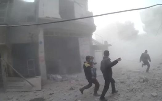 Bom đạn tiếp tục rơi tại Đông Ghouta