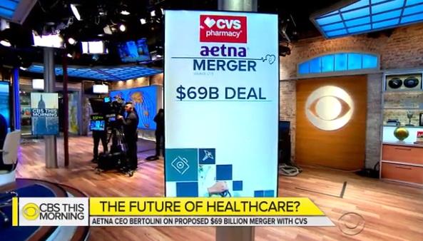 CVS mua lại công ty bảo hiểm Aetna để giảm chi phí y tế cho người Mỹ