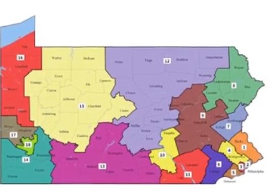 Tòa án tối cao pennsylvania công bố bản đồ bầu cử vẽ lại, bất lợi cho đảng Cộng Hòa