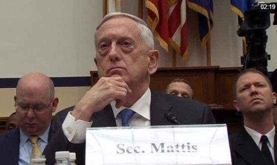 Bộ Trưởng Quốc Phòng James Mattis: bế tắc ngân sách làm tổn thương tinh thần binh sĩ