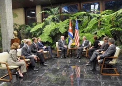 Đoàn đại diện dân cử Hoa Kỳ đến Cuba để xoa dịu tình hình căng thẳng bang giao
