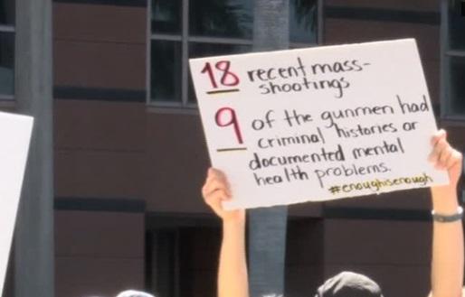 Triển lãm súng và biểu tình đòi kiểm soát súng diễn ra song song ở Florida