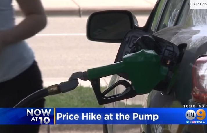 Giá xăng tại California có thể tăng lên 4 mỹ kim trong ba tháng tới