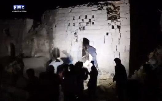 Nga leo thang chiến tranh tỉnh Idlib- Syria sau khi chiến đấu cơ bị bắn hạ