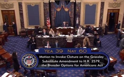 Thượng viện bác bỏ dự luật di trú sau khi tổng thống Trump đe dọa phủ quyết