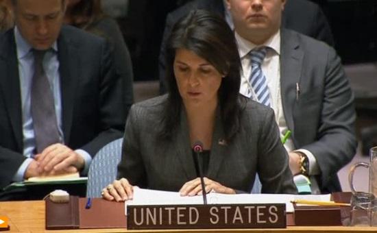 Đại Sứ Nikki Haley chỉ trích Hội Đồng Bảo An LHQ không dám chống lại tổng thống Syria