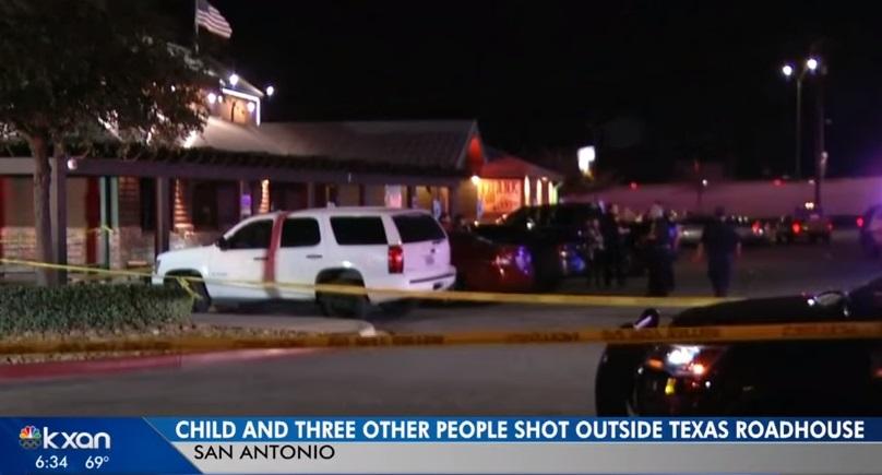 Nổ súng bên ngoài một nhà hàng  San Antonio Texas- 4 người bị thương, trong đó có một bé  6 tuổi