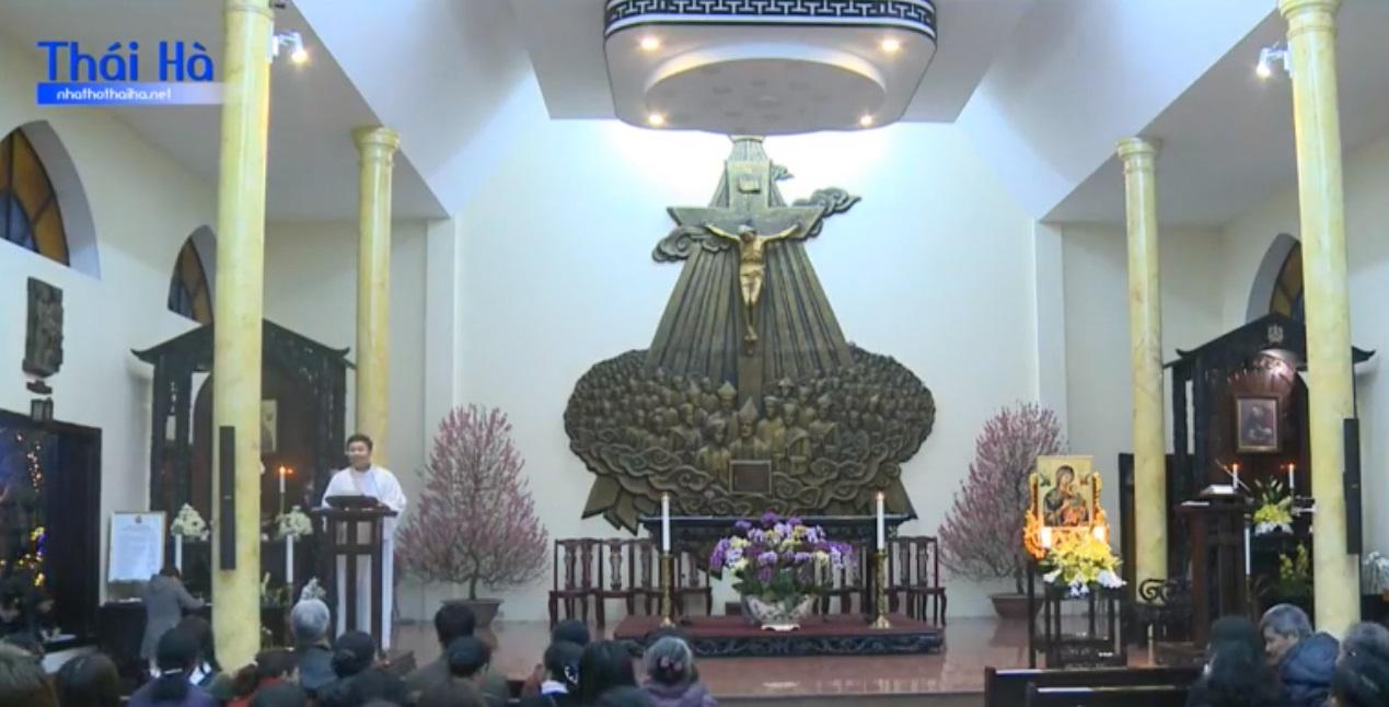 Thánh lễ nhà thờ Thái Hà chào đón bà Cấn Thị Thêu, cầu nguyện cho cô Phạm Đoan Trang