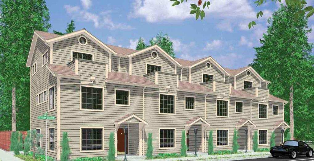 Việc xây dựng nhà mới ở Hoa Kỳ đang tăng lên