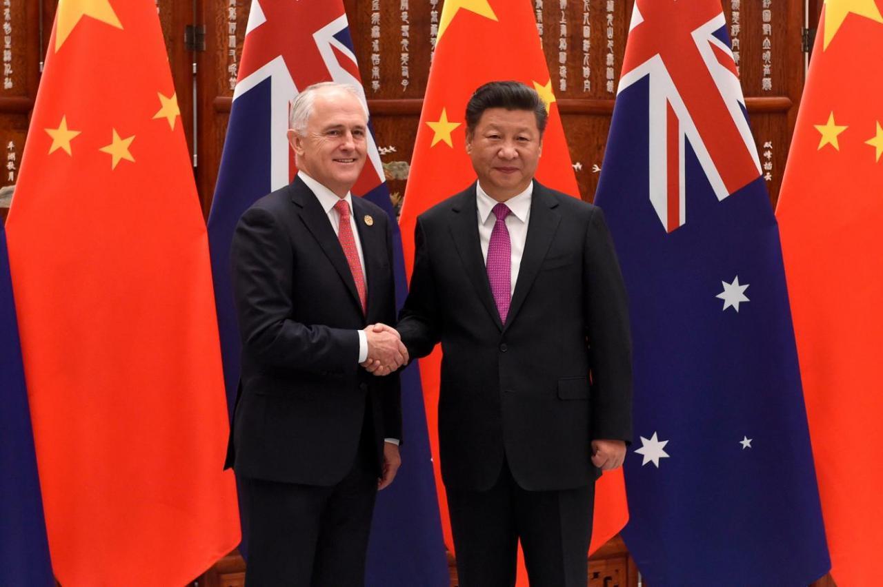 Úc khẳng định không có chiến tranh lạnh với Trung Cộng