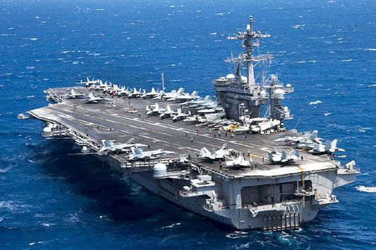 Việt Nam xác nhận hàng không mẫu hạm Uss Carl Vinson Tới Đà Nẵng