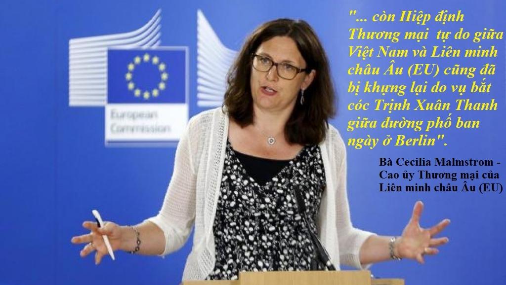 Lần đầu tiên Liên Âu xác nhận thương ước với Việt Nam bị trì hoãn do vụ Trịnh Xuân Thanh
