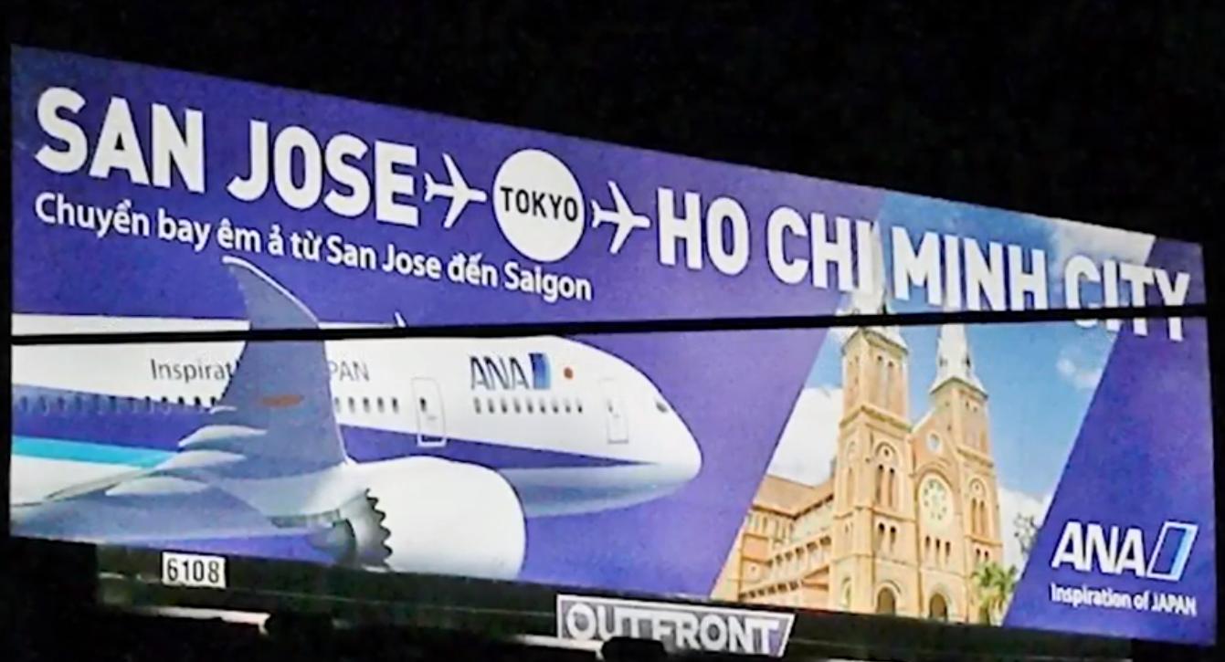 All-Nippon gỡ quảng cáo bị 2 nghị viên gốc việt ở San Jose phản đối