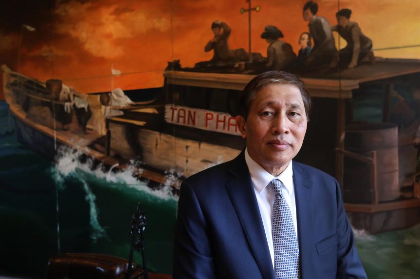 Người tị nạn gốc Việt quyên góp tiền dựng tượng ở Guam để cám ơn nước Mỹ