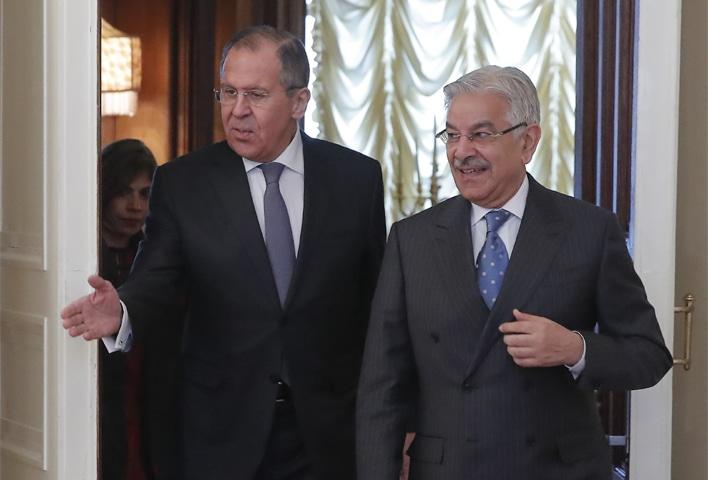 Nga tìm cách cải thiện quan hệ ngoại giao và quân sự với Pakistan